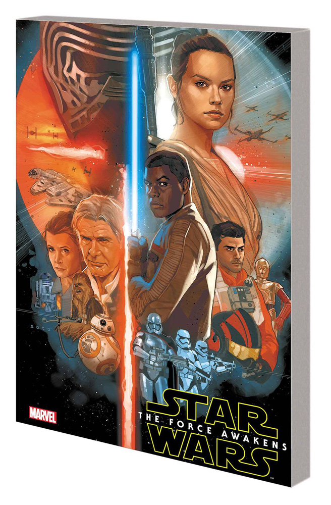 Image: Star Wars: The Force Awakens Adapatation SC  - Marvel Comics