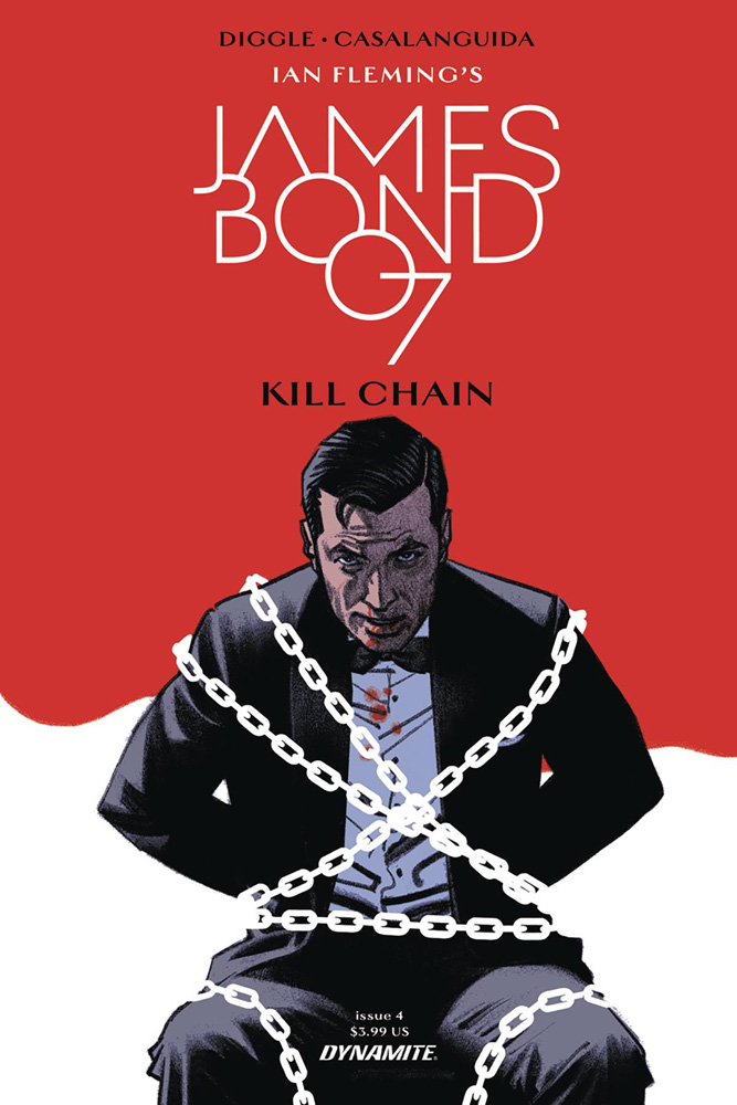 Image: James Bond: Kill Chain #4 (cover A - Smallwood)  [2017] - Dynamite