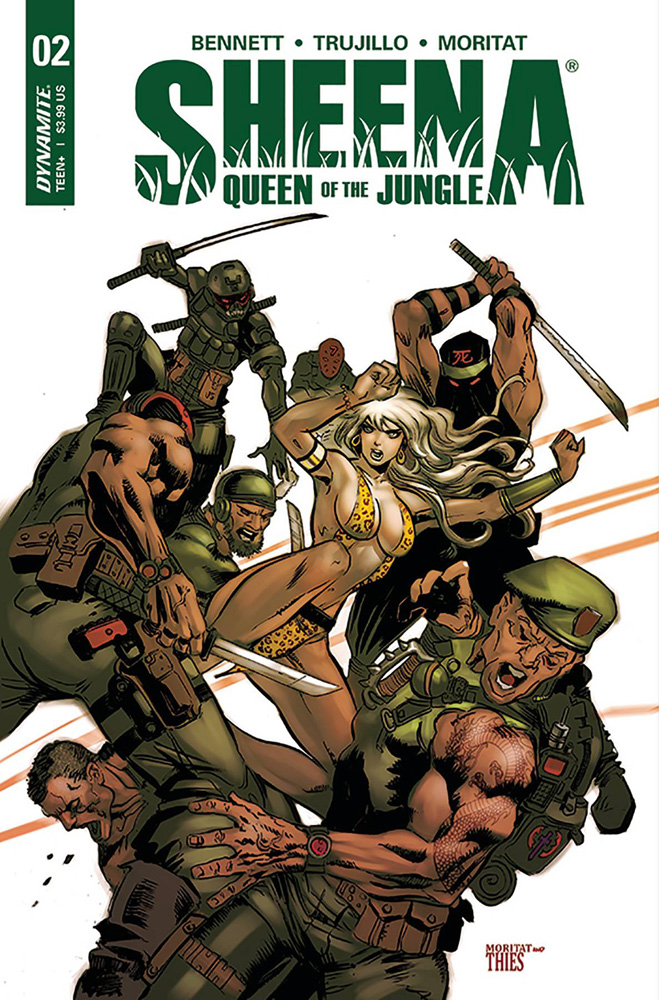 Image: Sheena Queen of the Jungle #2 (cover C - Moritat)  [2017] - Dynamite