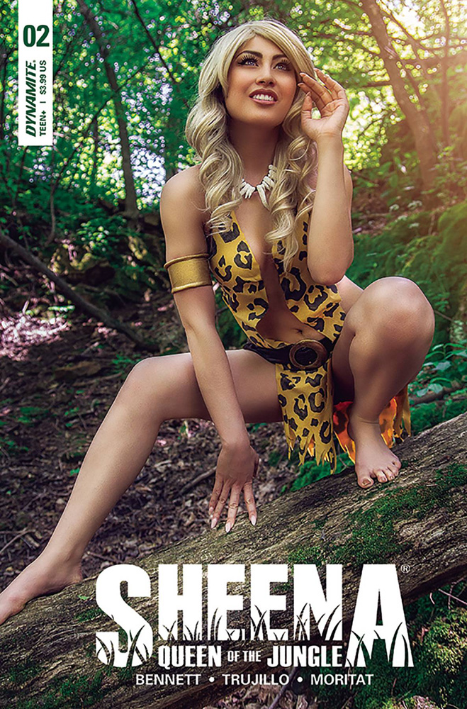 Image: Sheena Queen of the Jungle #2 (cover D - Cosplay)  [2017] - Dynamite