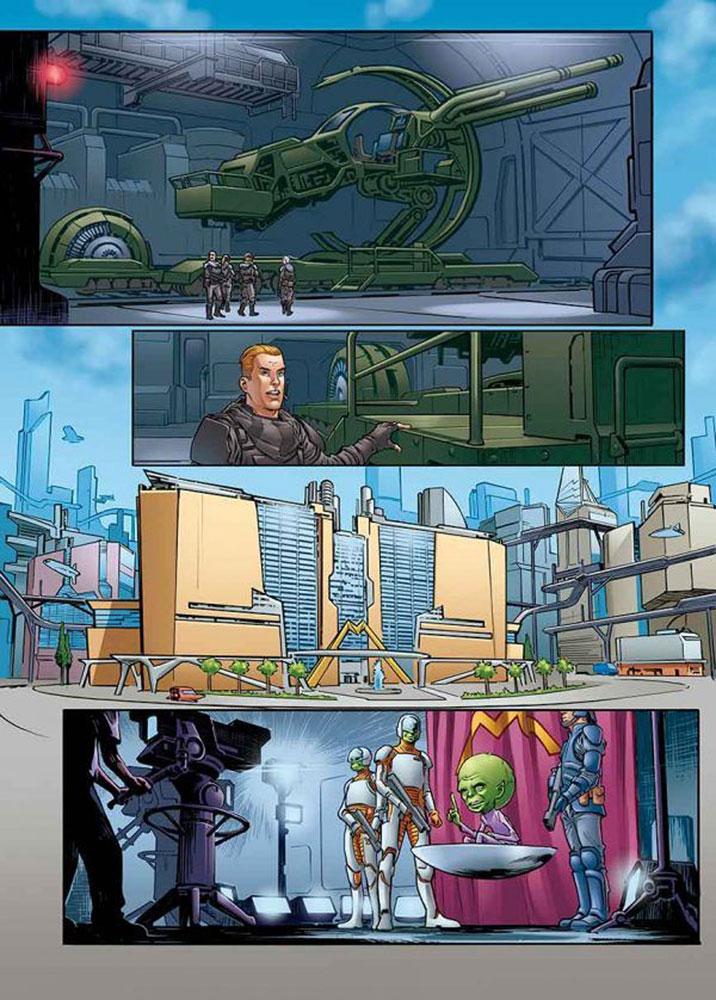 Dan Dare #1 (cover A - Ward)  [2017] - Titan Comics