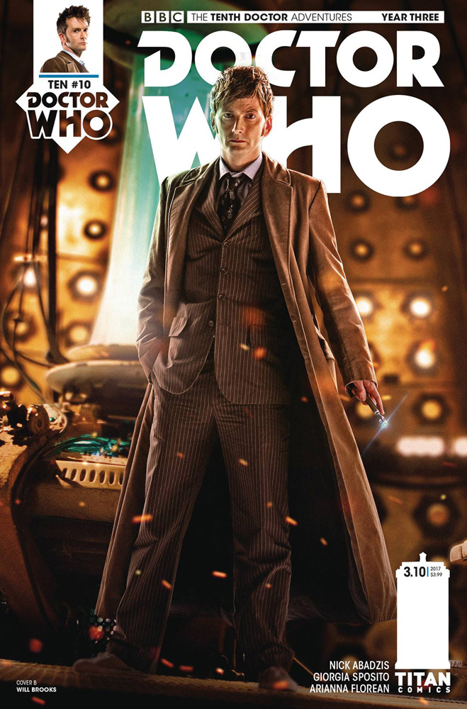 Image: Doctor Who: The 10th Doctor Year Three #10 (cover B - photo)  [2017] - Titan Comics
