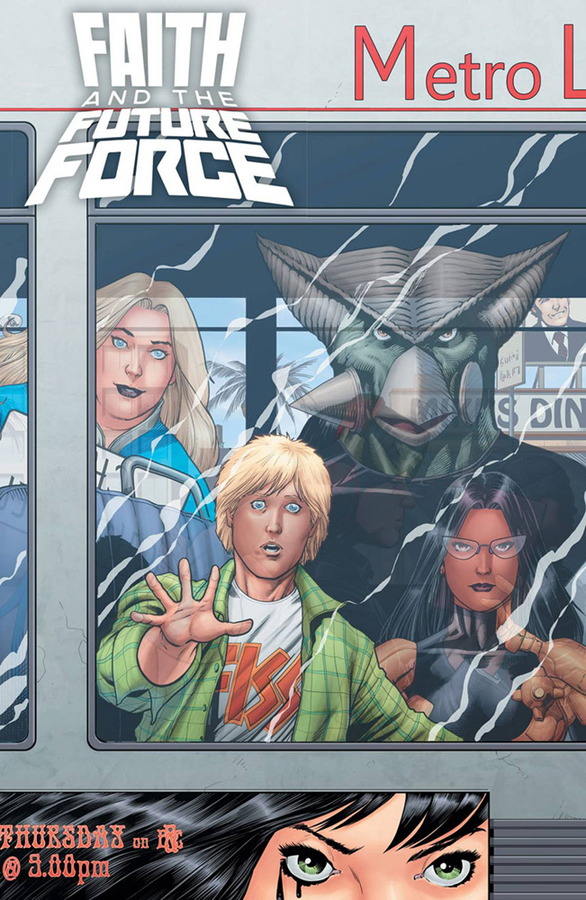 Image: Faith and the Future Force #4 (cover A - Kitson)  [2017] - Valiant Entertainment LLC