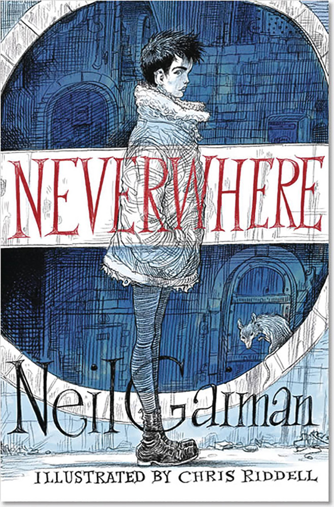 Image: Neverwhere Illustrated Edition HC  - William Morrow