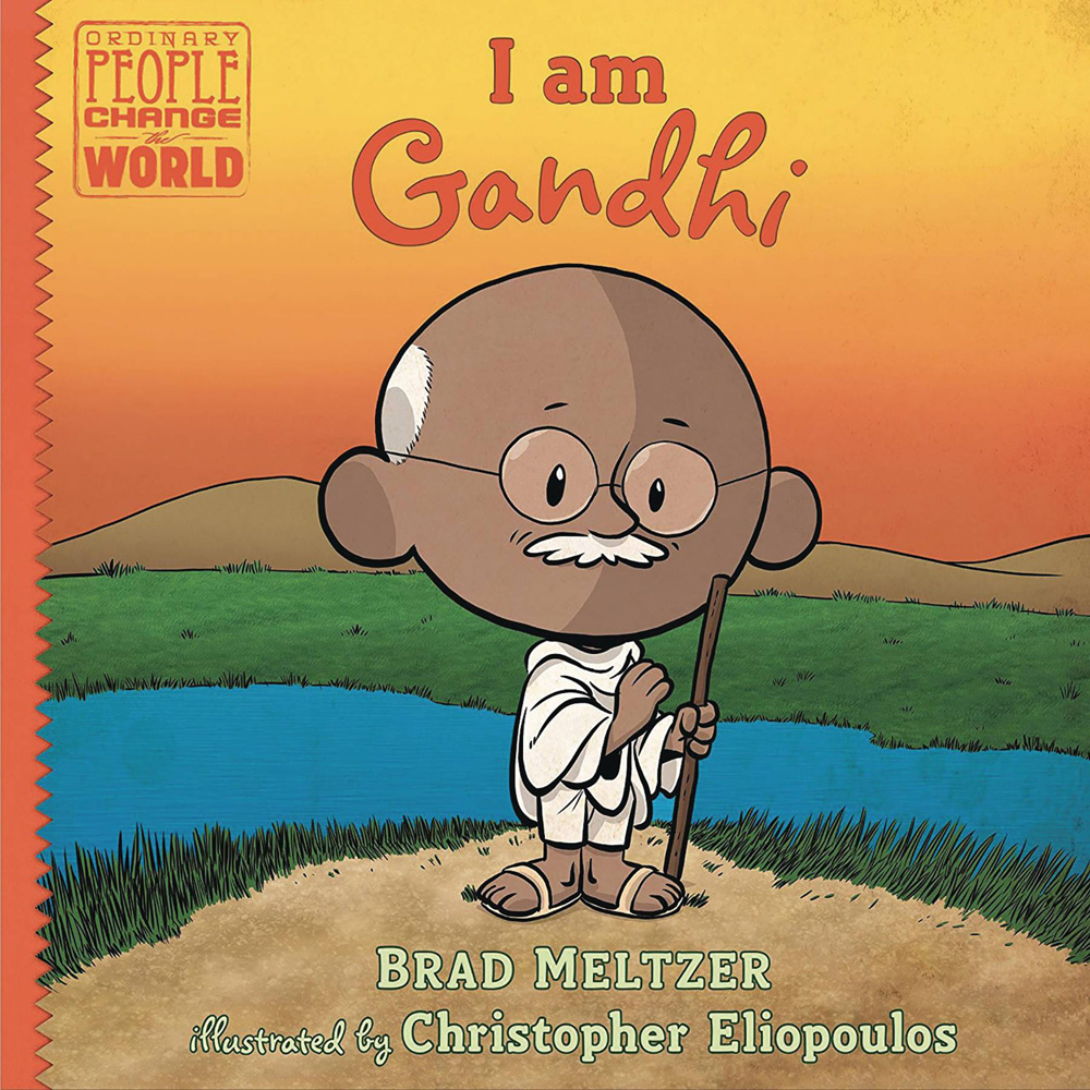 Image: I Am Gandhi YR HC  (Young Readers) (Young Readers) - Dial Books