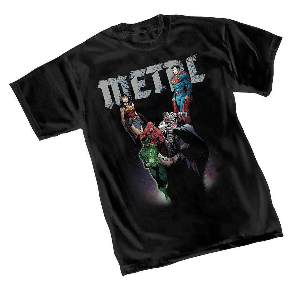 Image: Dark Nights T-Shirt: JLA by Capullo  (L) - Graphitti Designs