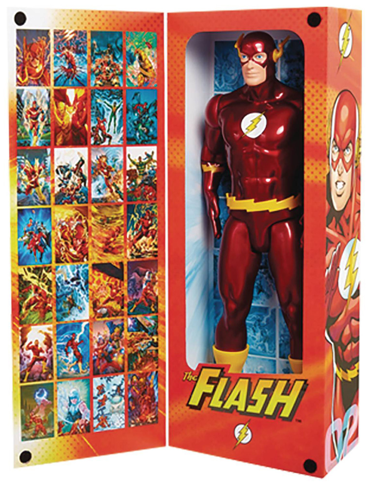 DC Big Figs Tribute Series Action Figure: Flash  (19-inch) - Jakks Pacific
