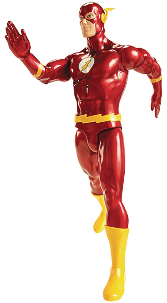 Image: DC Big Figs Tribute Series Action Figure: Flash  (19-inch) - Jakks Pacific