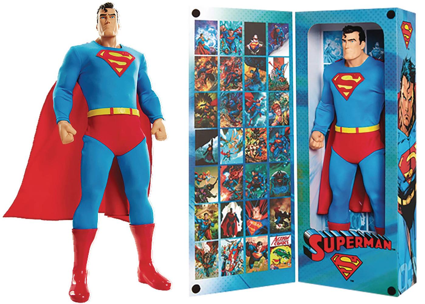 DC Big Figs Tribute Series Action Figure: Superman  (19-inch) - Jakks Pacific