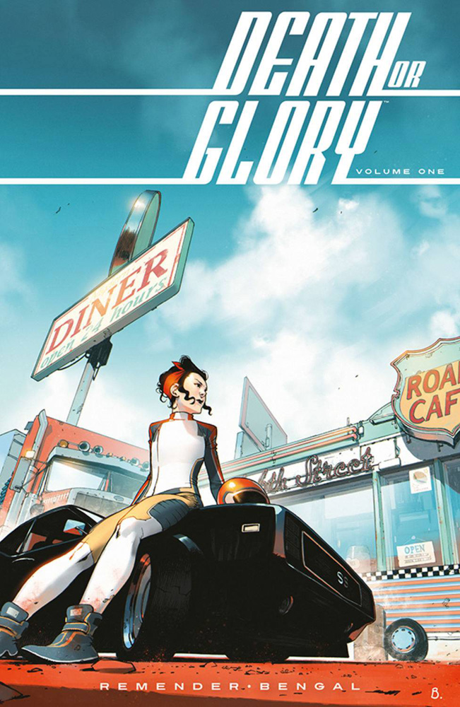 Image: Death or Glory Vol. 01: She's Got You SC  - Image Comics
