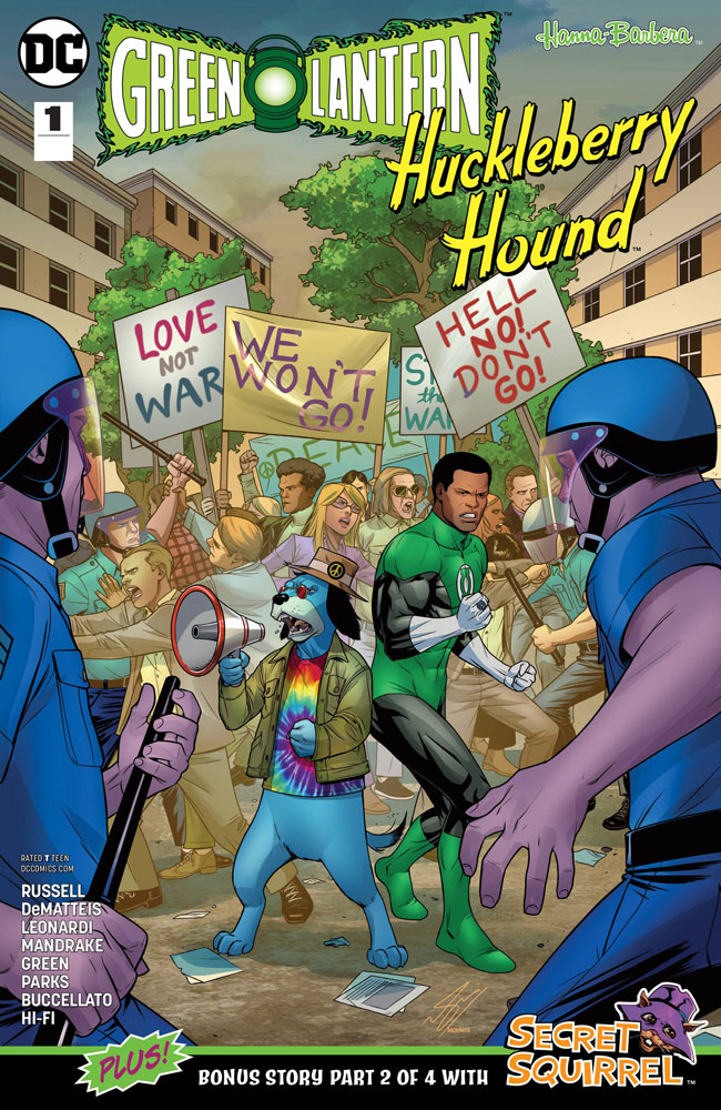 Image: Green Lantern / Huckleberry Hound Special #1  [2018] - DC Comics