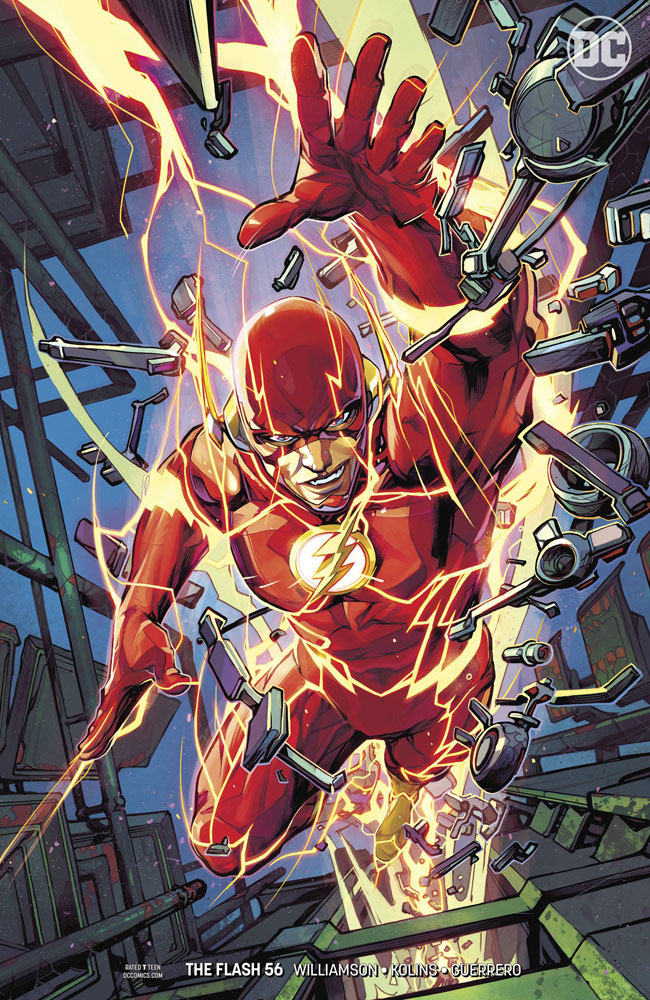 Image: Flash #56 (variant cover - Howard Porter)  [2018] - DC Comics