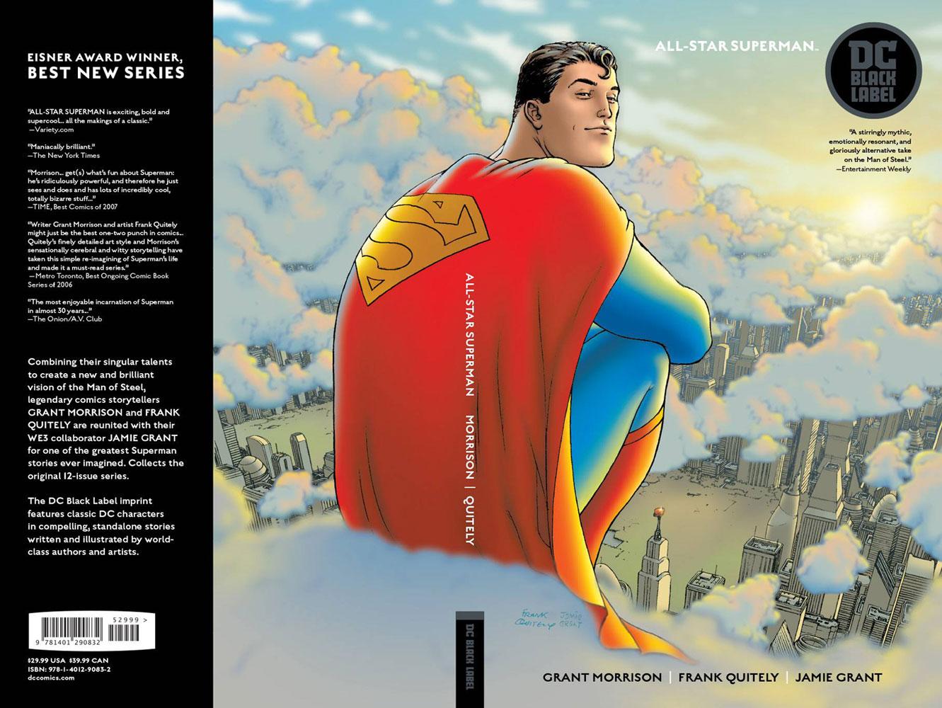 All-Star Superman  (Black Label) SC - DC Comics