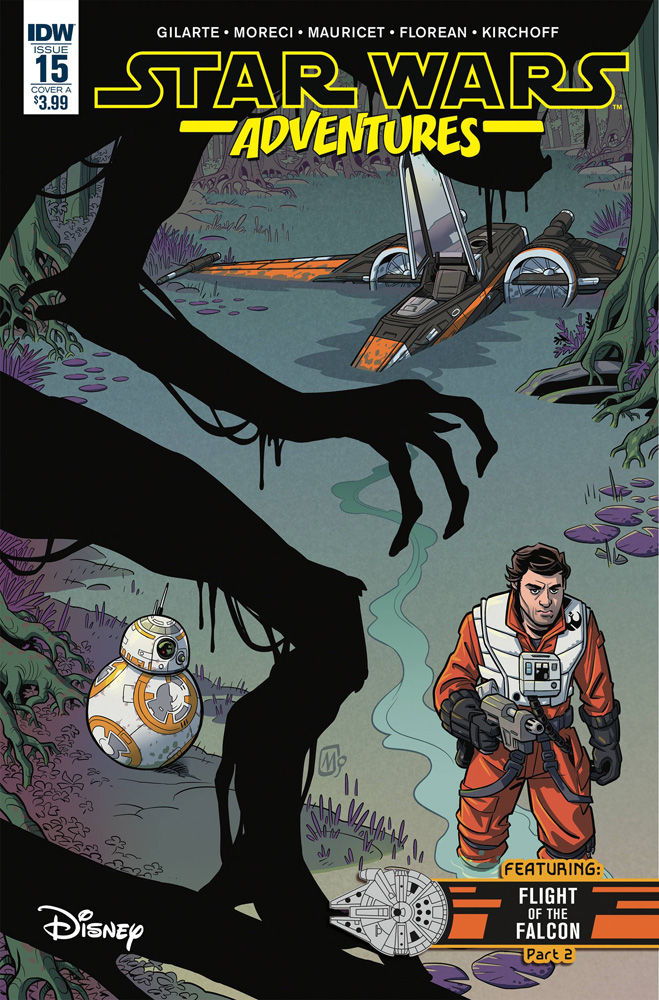 Image: Star Wars Adventures #15 (cover A - Mauricet)  [2018] - IDW Publishing