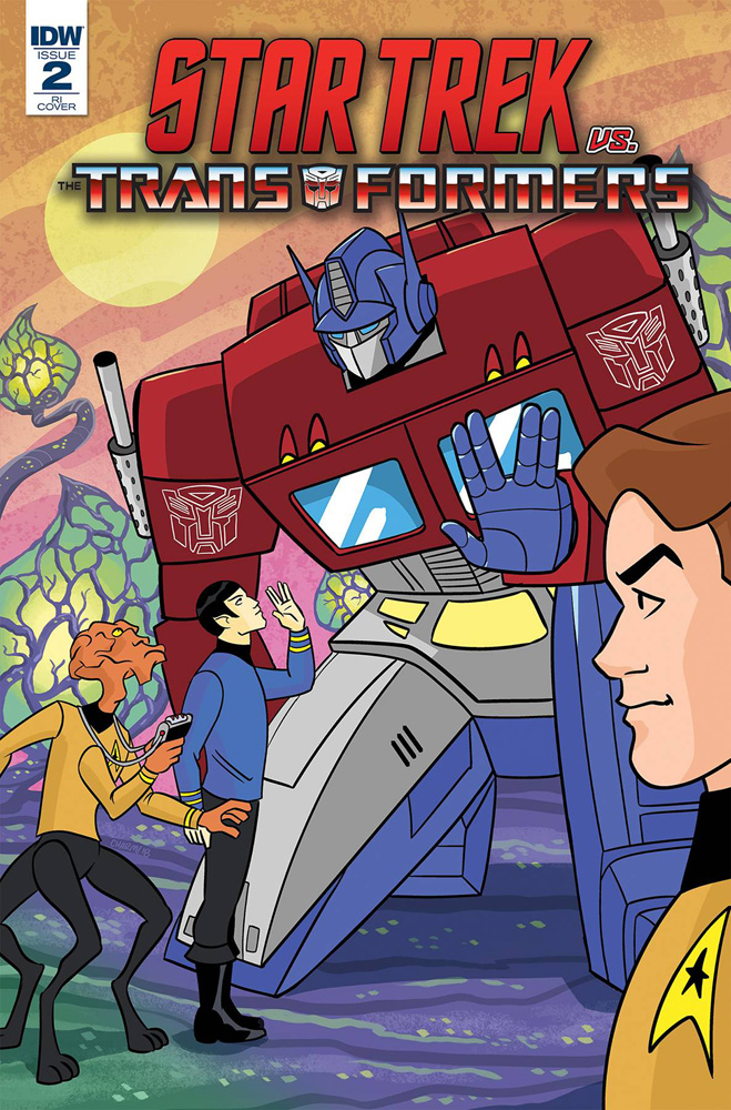 Image: Star Trek vs. Transformers #2 (incentive cover - Charm) (10-copy)  [2018] - IDW Publishing