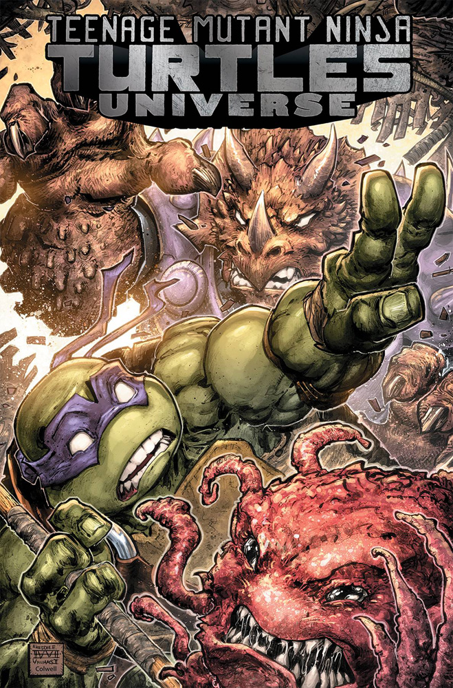 Image: Teenage Mutant Ninja Turtles Universe Vol. 05: The Coming Doom SC  - IDW Publishing