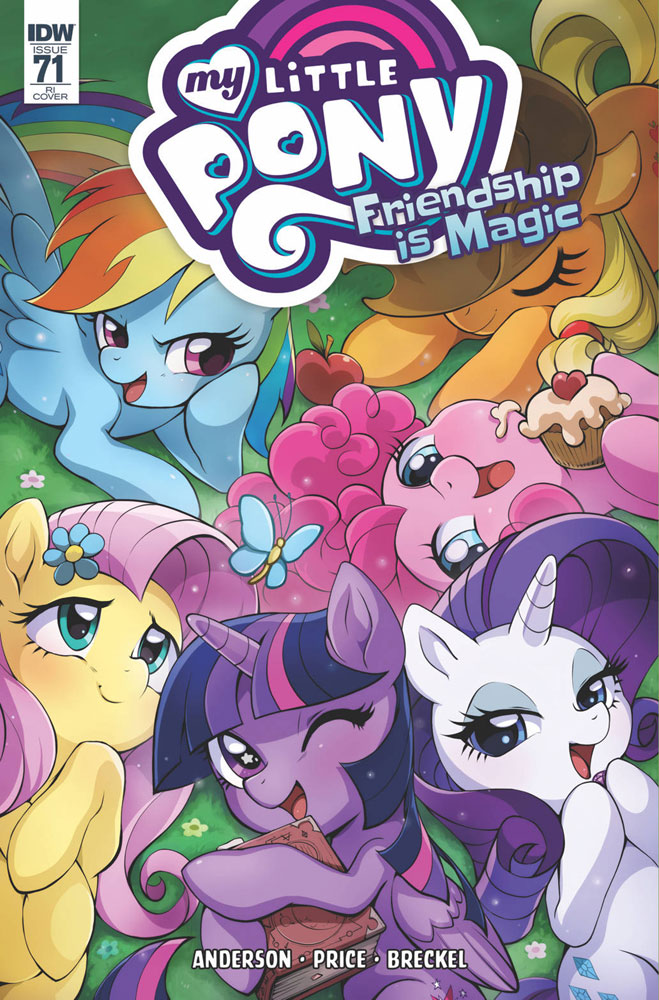 Image: My Little Pony: Friendship Is Magic #71 (incentive cover - Cibos) (10-copy)  [2018] - IDW Publishing