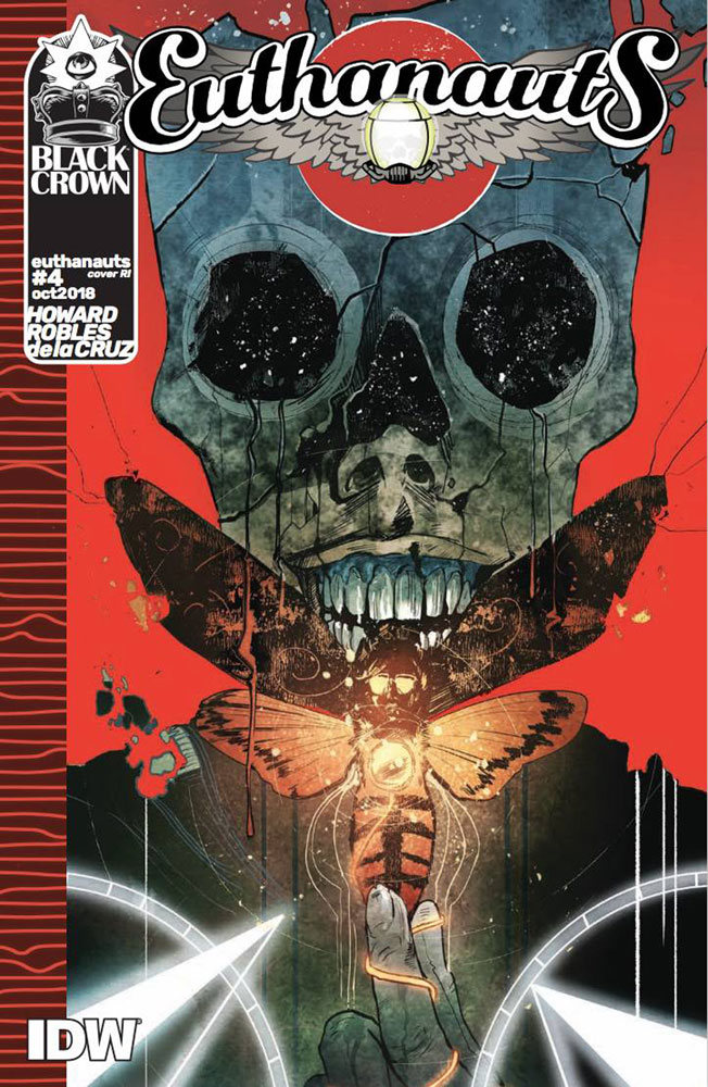 Image: Euthanauts #4 (incentive cover - Robles) (10-copy)  [2018] - IDW Publishing
