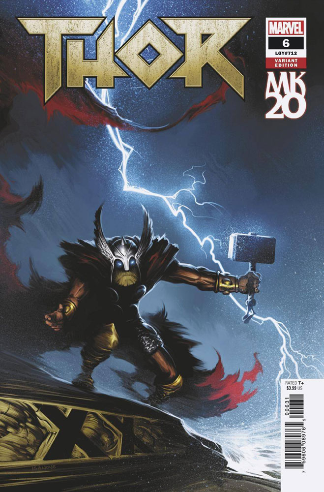 Image: Thor #6 (variant MKXX cover - Isanove)  [2018] - Marvel Comics