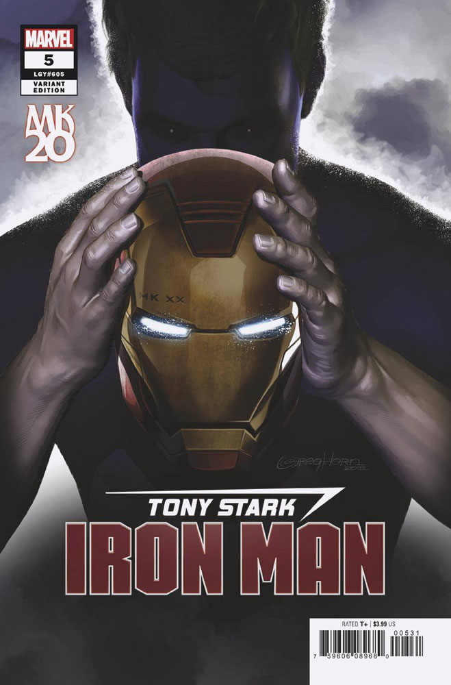 Image: Tony Stark: Iron Man #5 (variant MKXX cover - Greg Horn)  [2018] - Marvel Comics
