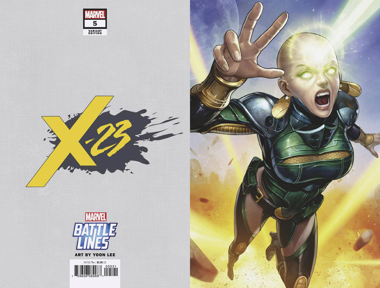 Image: X-23 #5 (variant Marvel Battle Lines cover) - Marvel Comics