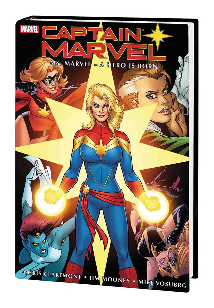 Captain Marvel: Ms. Marvel — A Hero Is Born Omnibus Amanda Conner & Laura Martin cover