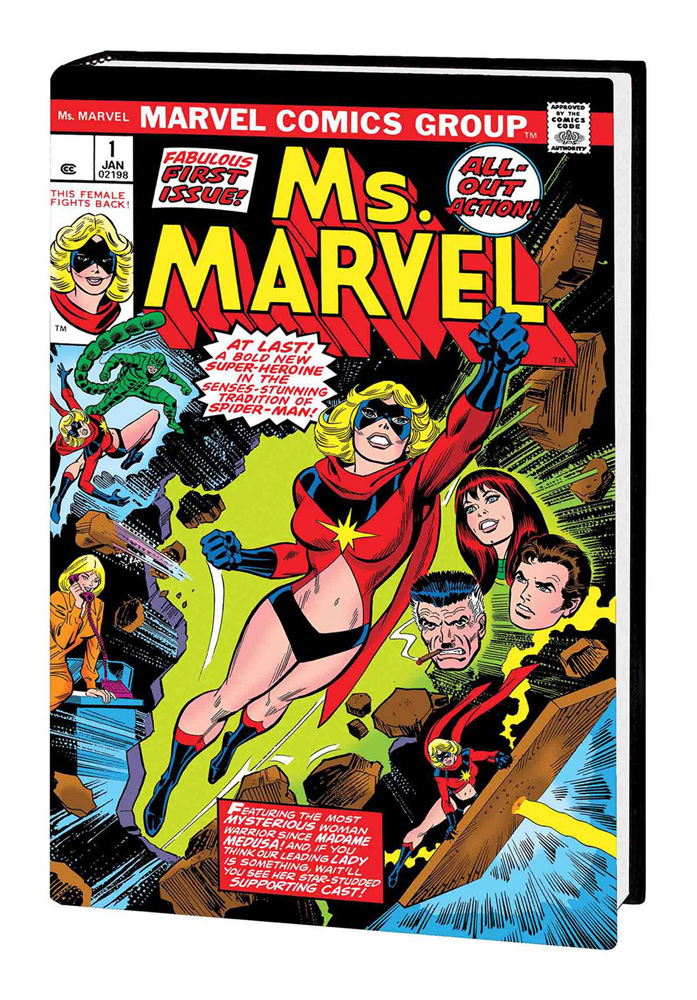 Captain Marvel: Ms. Marvel — A Hero Is Born Omnibus John Romita Sr. cover