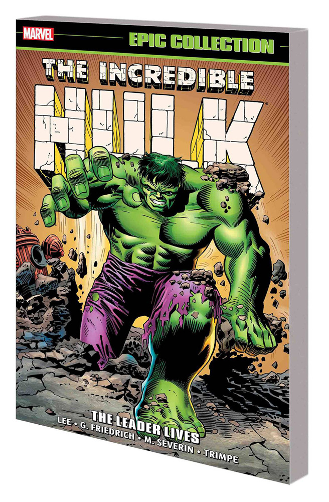 Image: Incredible Hulk Epic Collection: The Leader Lives SC  - Marvel Comics