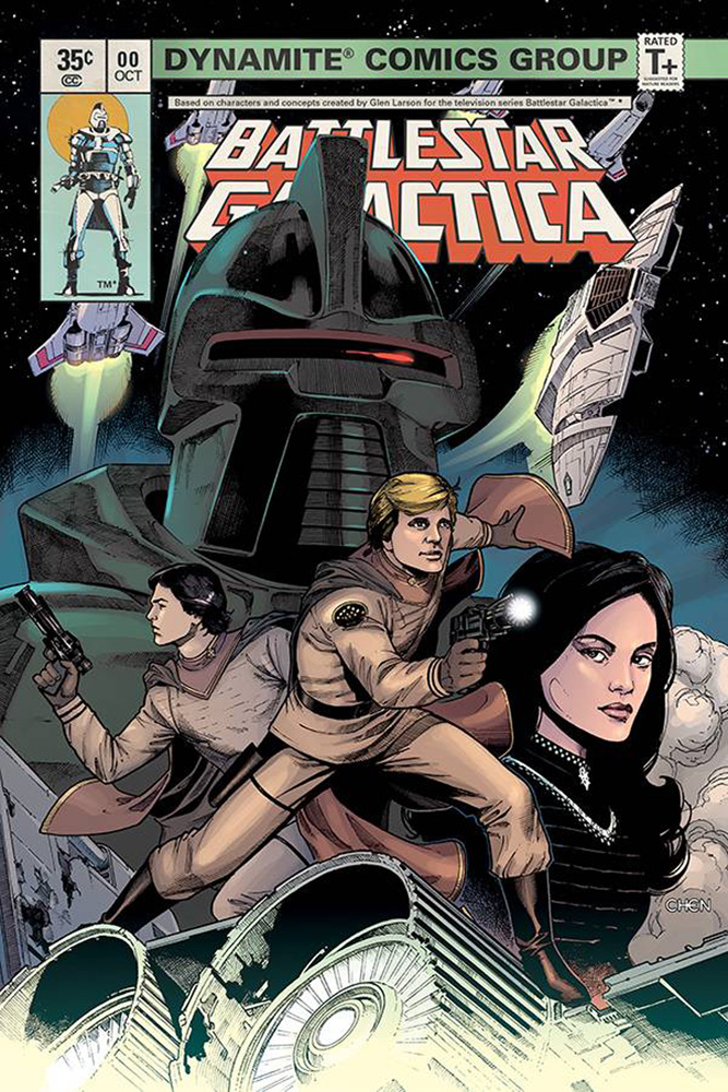Image: Battlestar Galactica #0 (Classic) (cover A - Chen)  [2018] - Dynamite