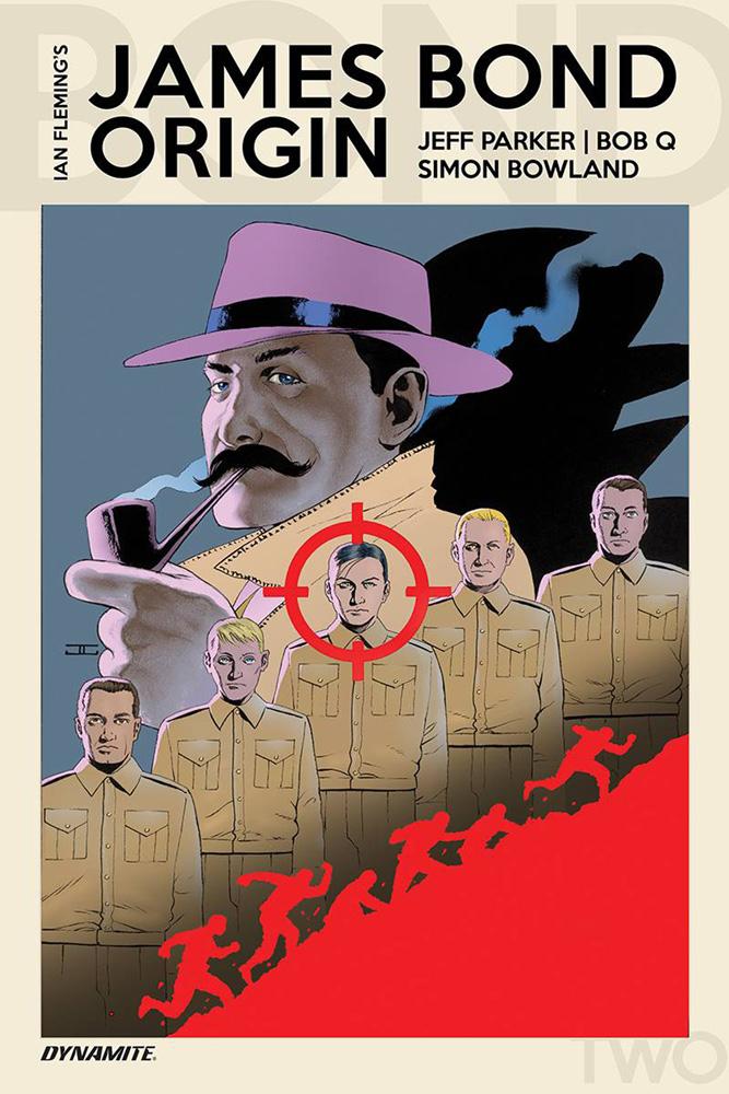 James Bond Origin #2 John Cassaday cover