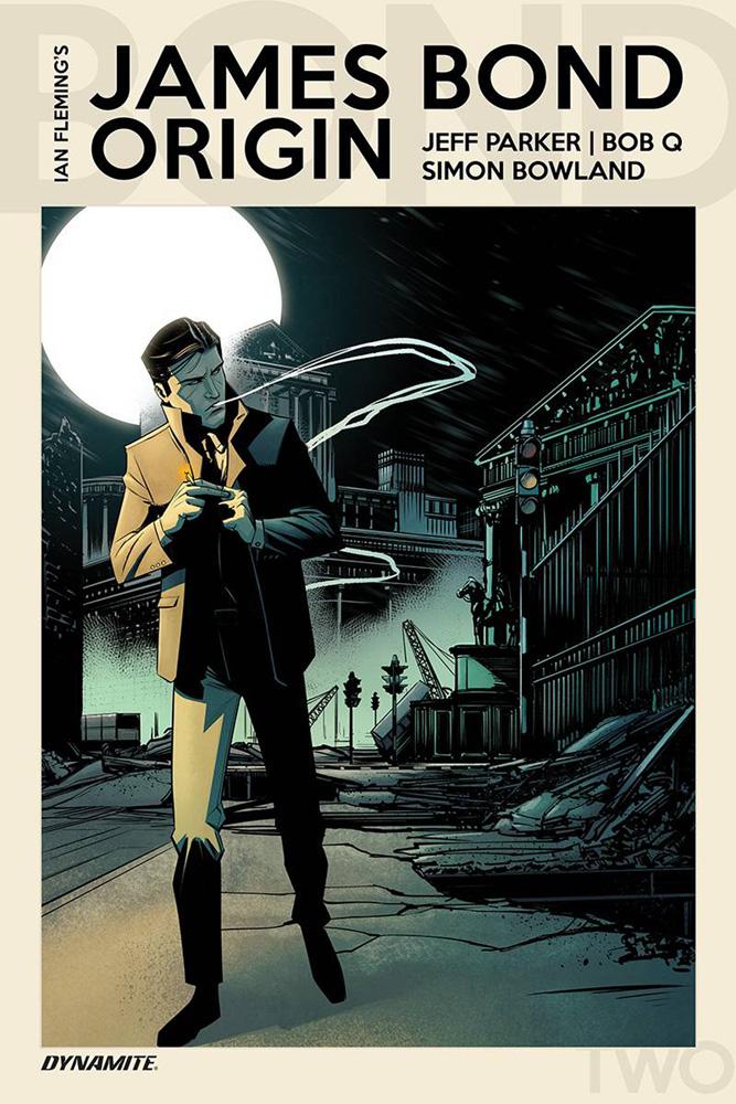 James Bond Origin #2 Bob Q cover
