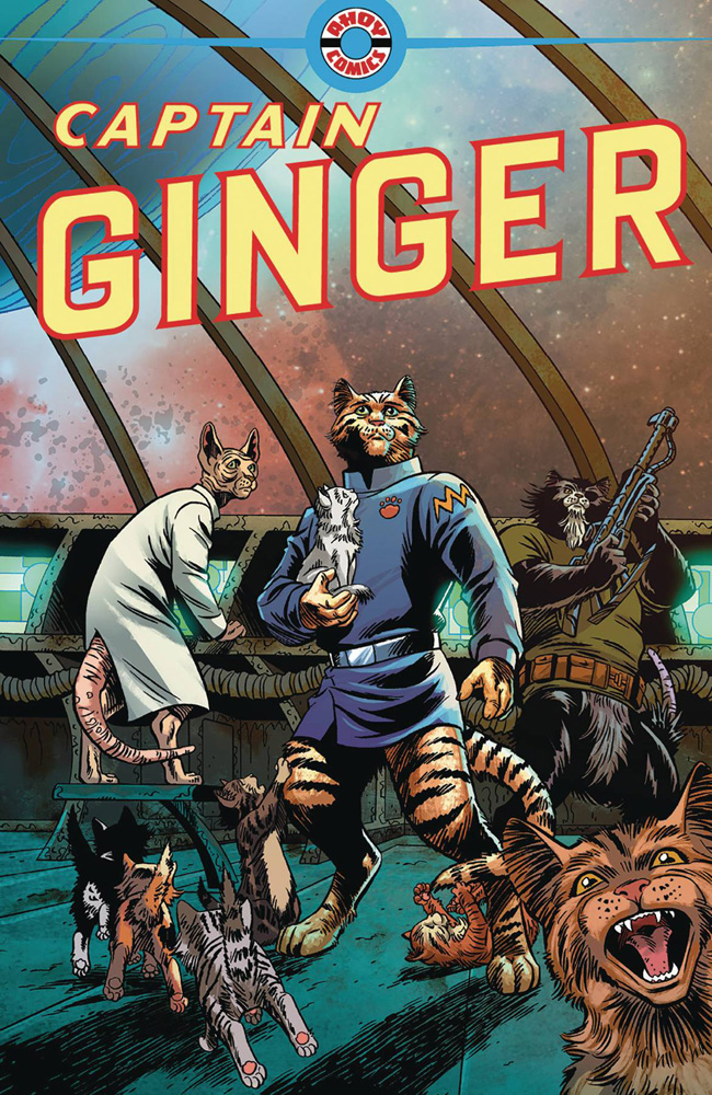 Image: Captain Ginger #1  [2018] - Ahoy Comics