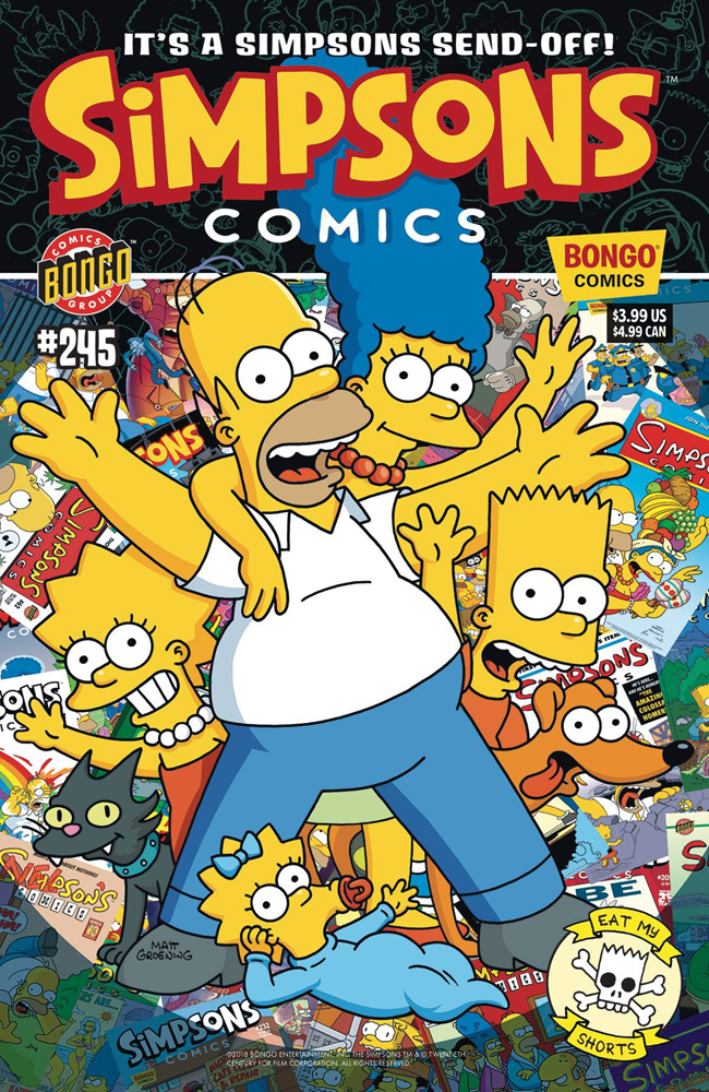 Image: Simpsons Comics #245 - Bongo Comics
