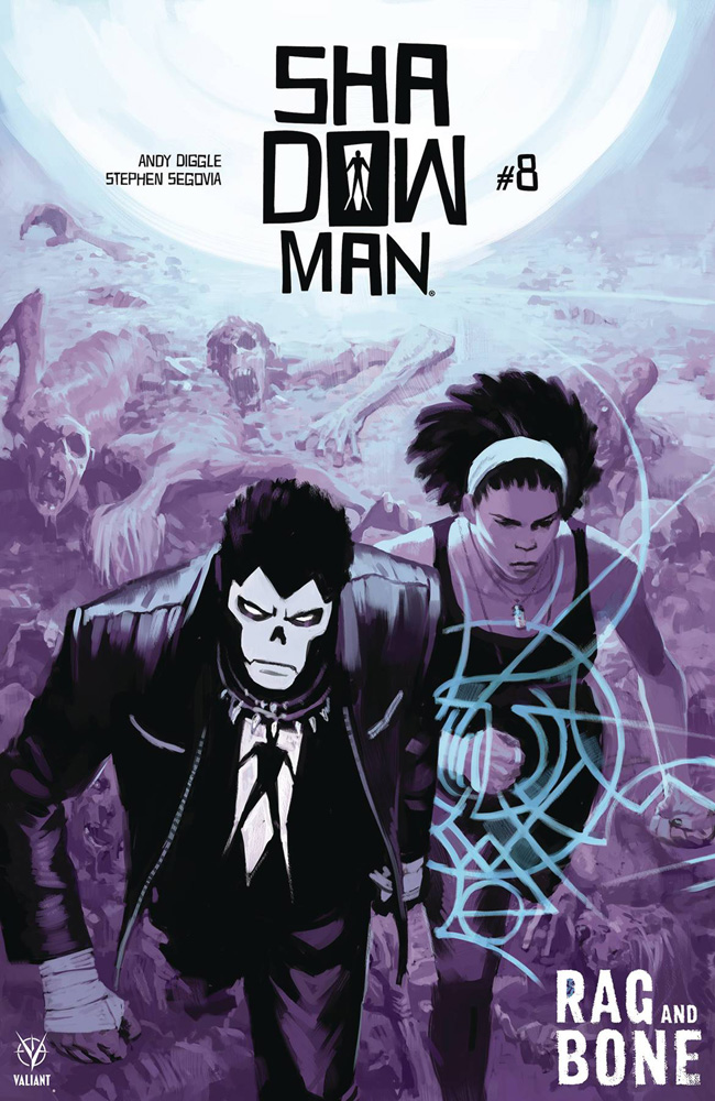 Image: Shadowman #8 (cover A - Zonjic) - Valiant Entertainment LLC
