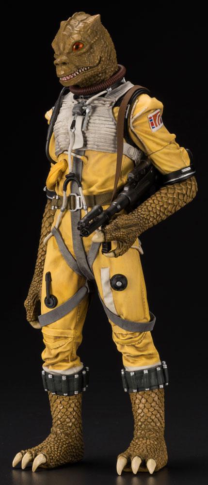 Star Wars ArtFX+ 1/10 Scale Pre-Painted Model Kit: Bounty Hunter Bossk  - Koto Inc.