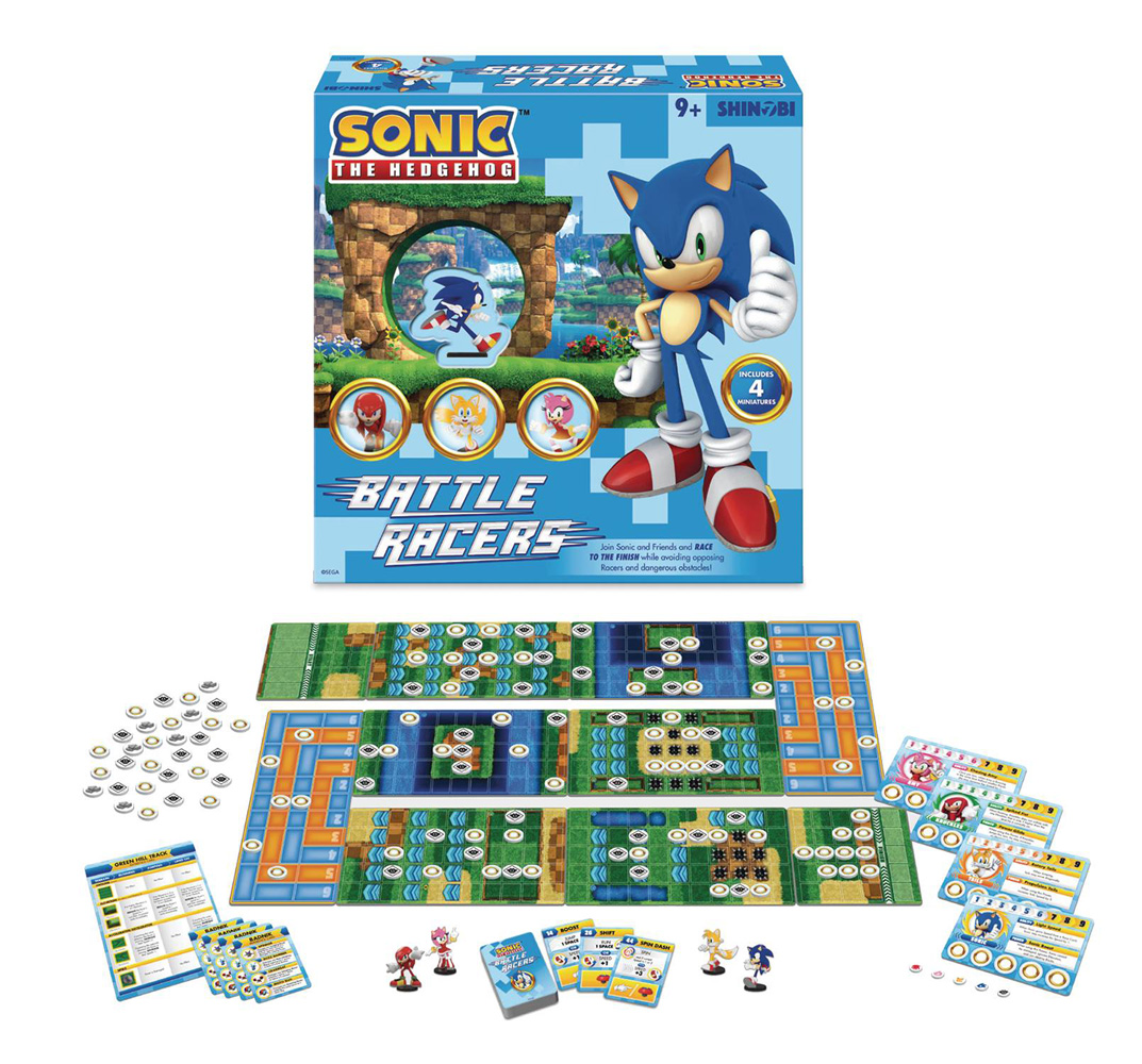Image: Sonic the Hedgehog Boardgame: Battle Racers  - Shinobi 7