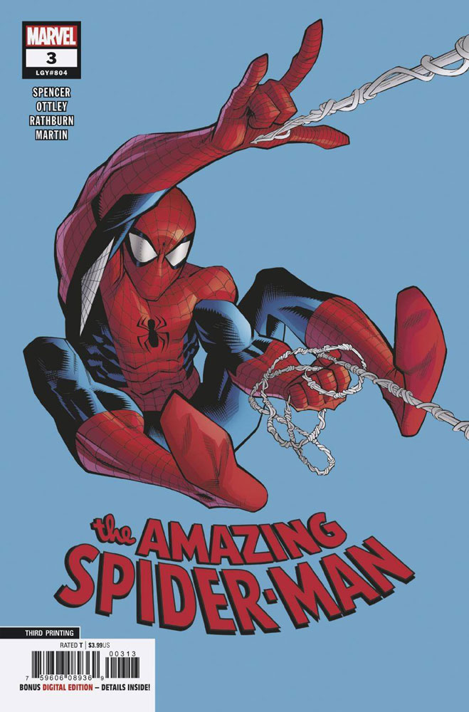 Image: Amazing Spider-Man #3 (3rd printing variant - Ryan Ottley) - Marvel Comics