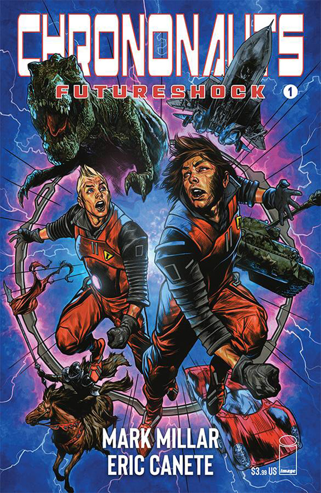 Image: Chrononauts: Futureshock #1 (cover C - Charest) - Image Comics