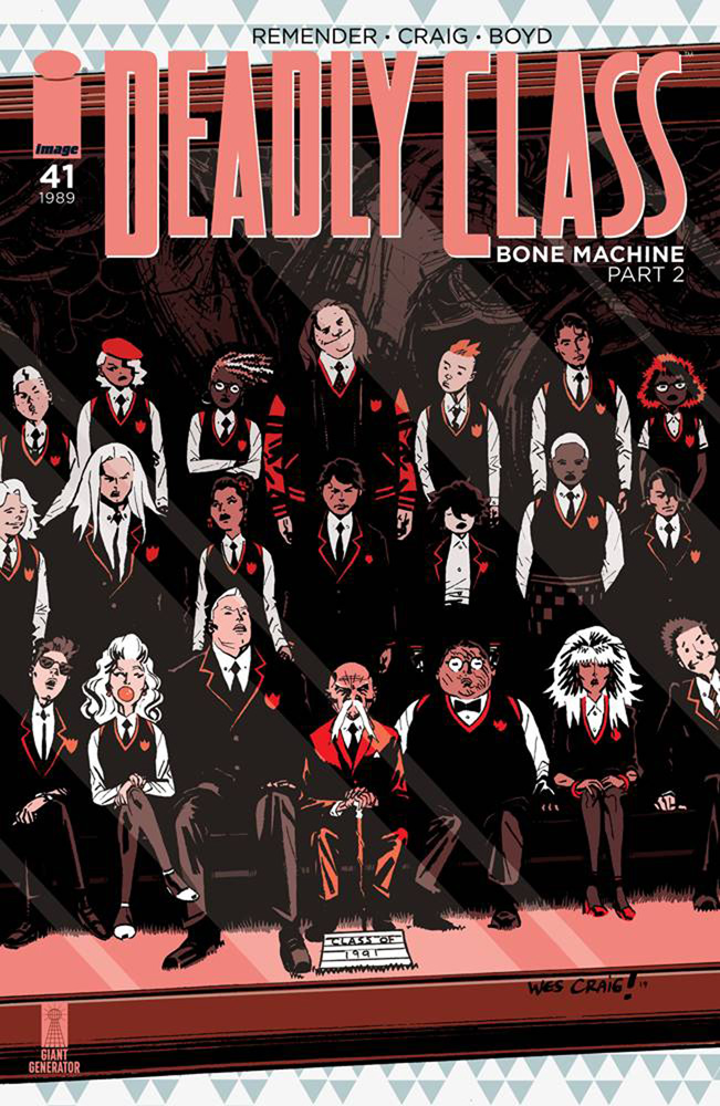 Image: Deadly Class #41 (cover A - Craig) - Image Comics