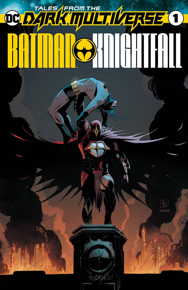 Image: Tales from the Dark Multiverse: Batman Knightfall #1 - DC Comics
