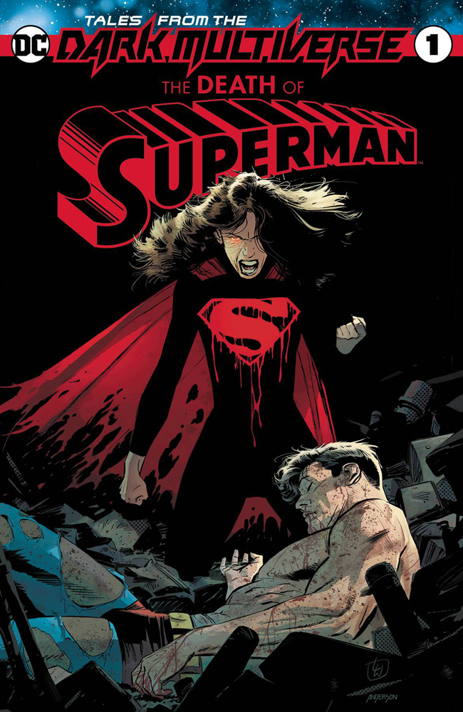 Image: Tales from the Dark Multiverse: The Death of Superman #1 - DC Comics