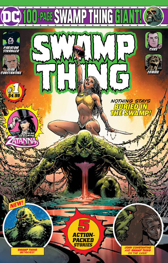 Image: Swamp Thing Giant #1 - DC Comics