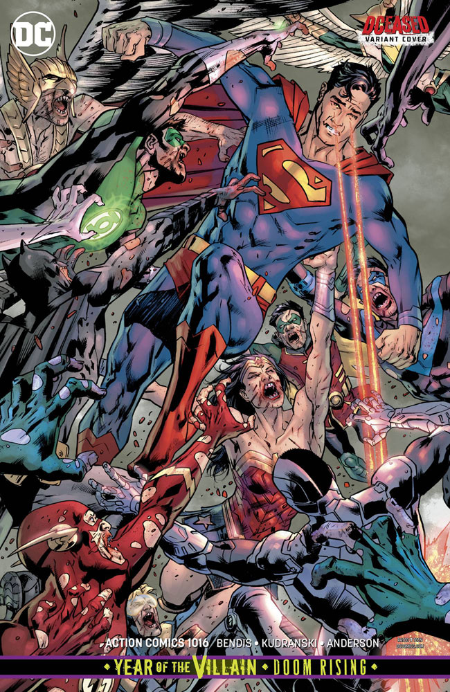 Image: Action Comics #1016 (variant cover - Bryan Hitch) - DC Comics