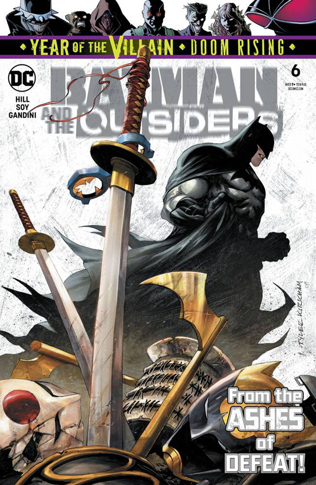 Image: Batman and the Outsiders #6 (YotV) - DC Comics