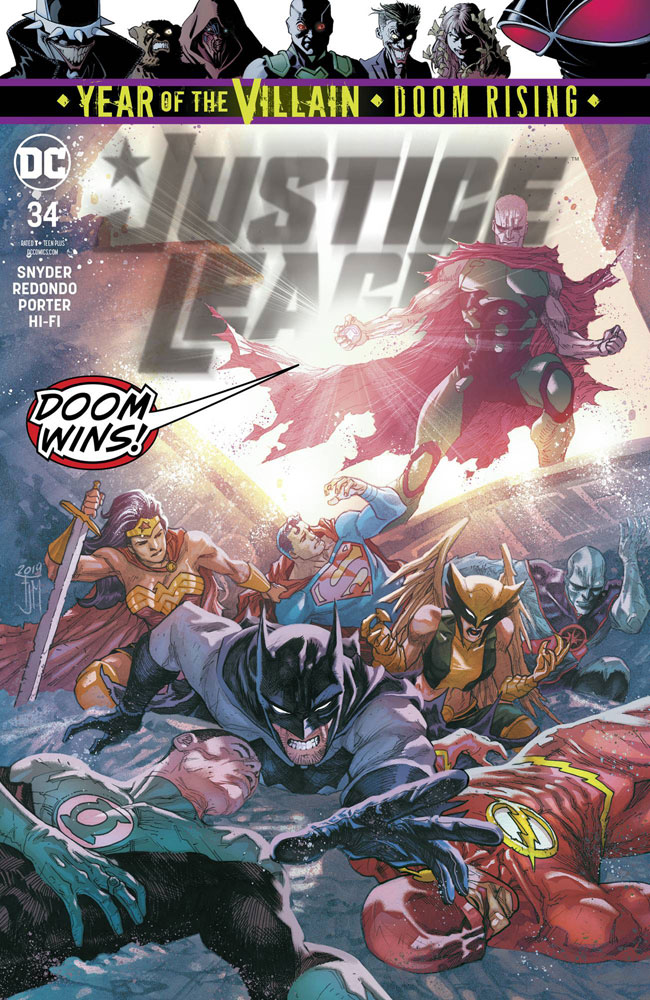Image: Justice League #34 (YotV)  [2019] - DC Comics
