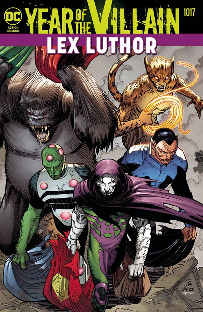 Action Comics #1017 (YotV) (Acetate cover) - DC Comics