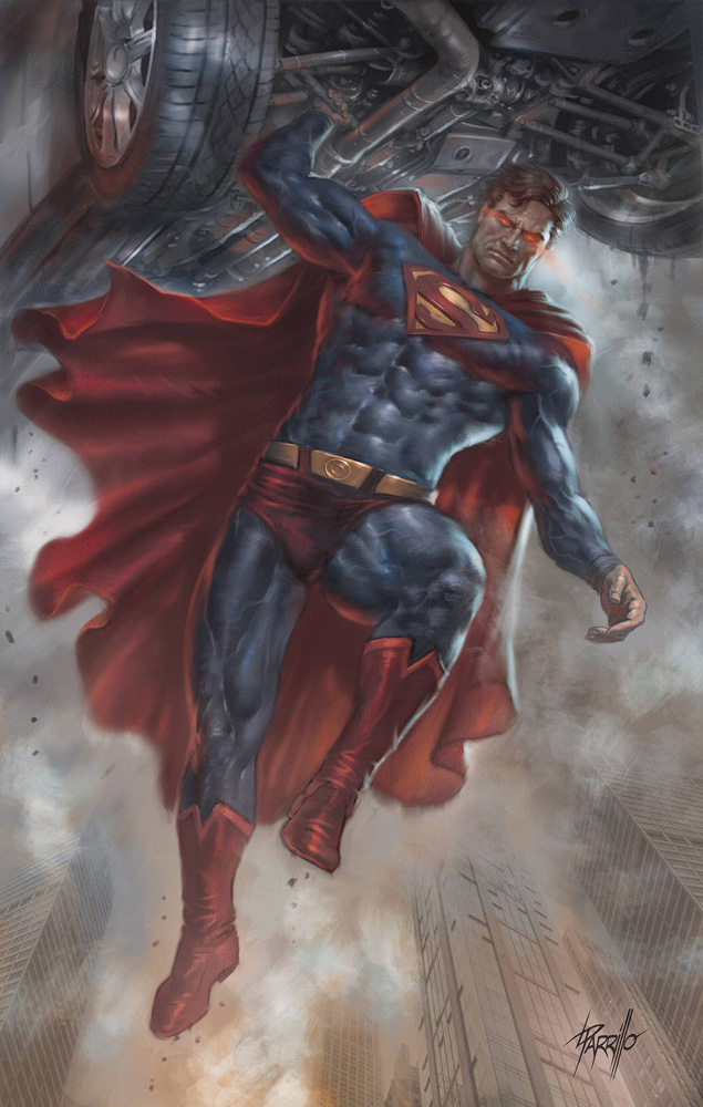 Image: Action Comics #1017 (YotV) (variant card stock cover - Lucio Parrillo) - DC Comics