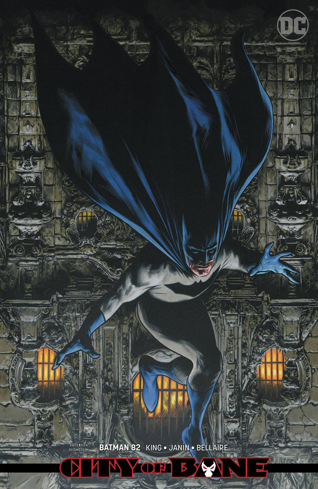 Image: Batman #82 (variant card stock cover - Travis Charest)  [2019] - DC Comics