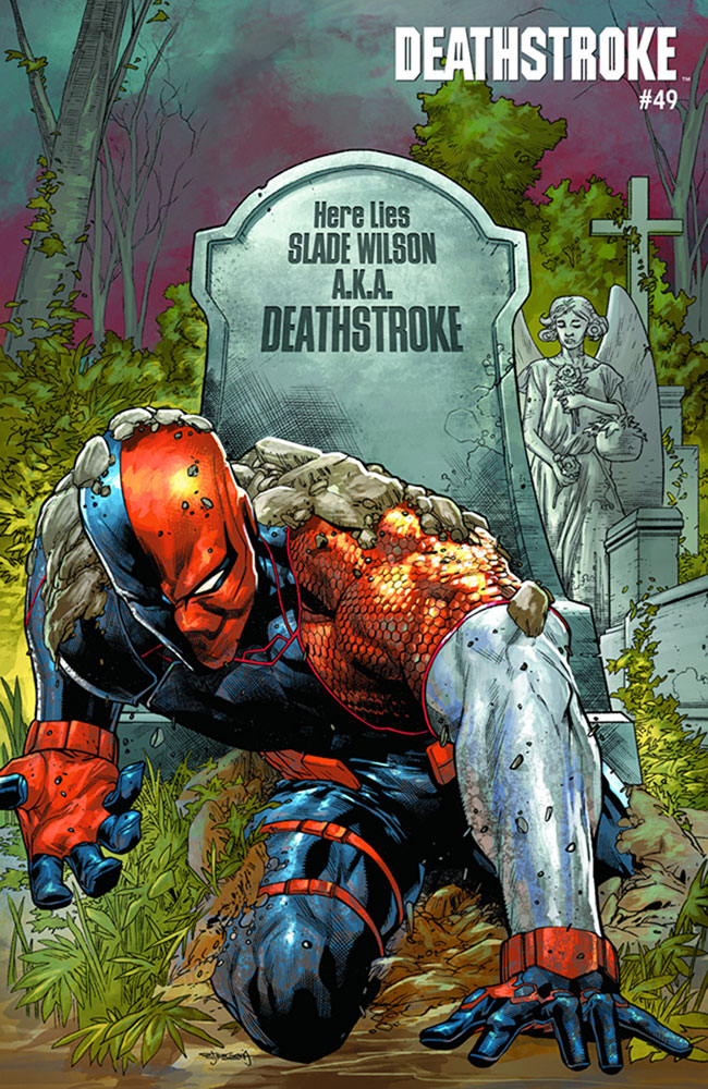 Deathstroke #49 (YotV) (Acetate cover)  [2019] - DC Comics