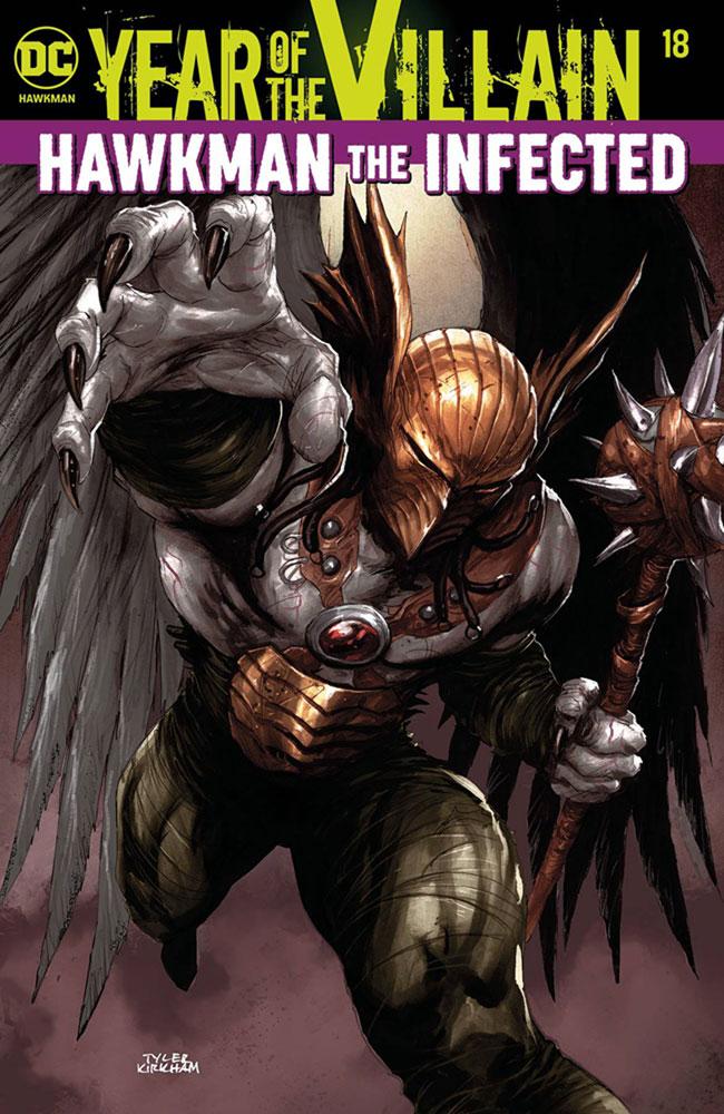 Hawkman #18 (YotV) (Acetate cover) - DC Comics
